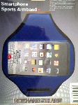 smartphone sports armband in blauw