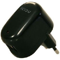 icidu Notebook en smartphone Adapters USB AC Adapter 2 port