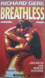 video film Breathless (vhs)